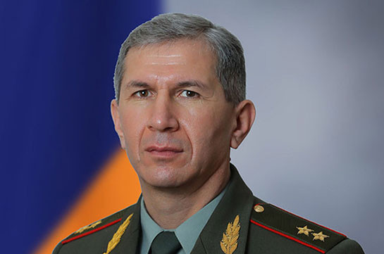 Head of Chief of Staff of Armenia's Armed Forces not resigning
