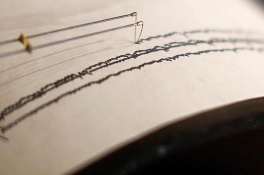 Earthquake recorded on Georgia-Armenia border zone