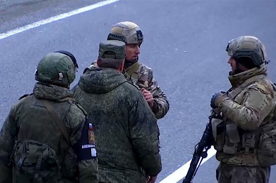 Миротворцы помогали при передаче Кельбаджарского района Азербайджану (Видео)