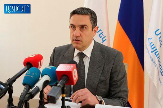 Необходимо выяснить цель и реальные мотивы провоцирующих войну заявлений премьер-министра – Артур Казинян