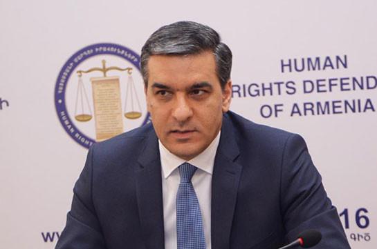 Азербайджан искусственно затягивает процесс обмена пленными и телами погибших и продолжает жестокое обращение – омбудсмен Армении обратился к международному сообществу
