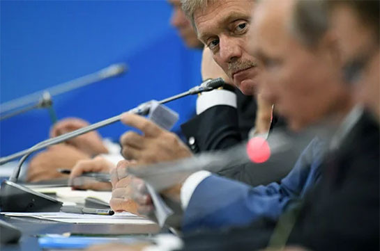 Peskov – Putin holds intensive dialogues with Armenian, Azeri leaders