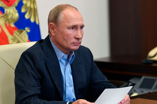 Путин обсудил с Совбезом деятельность российских миротворцев в Карабахе