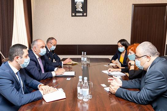 ՀՀ զինվորական դատախազը «Human Rights Watch» կազմակերպության ներկայացուցչի հետ քննարկել է հայ ռազմագերիների հարցը