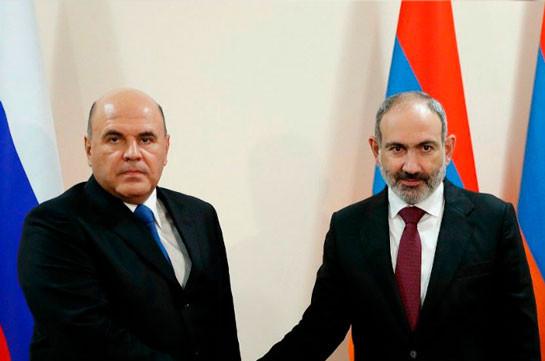 Пашинян не поедет в Москву, состоялся его разговор с Мишустиным
