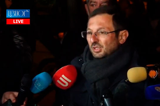 Гегам Манукян: Люди ходят с поникшей головой из-за вора – Никола Пашиняна