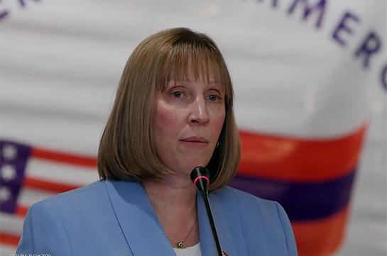 "ANCA gives U.S. Ambassador to Armenia Lynne Tracy an ""F"" rating as U.S. Ambassador"