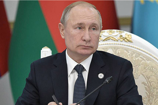 Putin – Armenia passed very hard time in its history, but made decisions very necessary