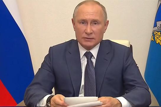Путин призвал помочь людям, оказавшимся в зоне боевых действий в Карабахе
