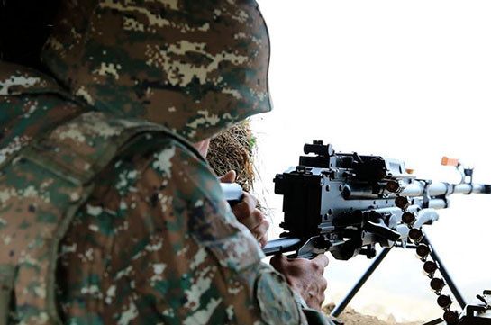 Главы Минобороны Армении и России обсудили случай нарушения режима перемирия в Гадрутском районе Карабаха