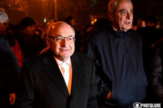 No option for Nikol to stay – Vazgen Manukyan
