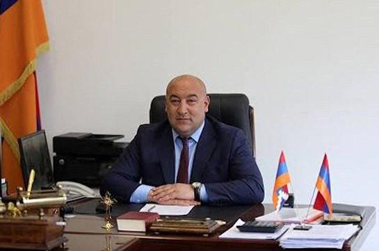 Mayor of Armenia's Kajaran arrested