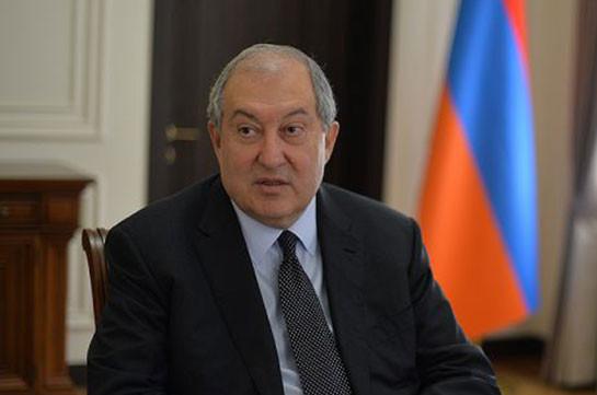 Armenia's president contracts COVID-19 in London