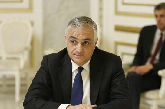 Мгер Григорян возглавит рабочую группу по разблокированию экономических, торговых и транспортных связей в регионе и Карабахе