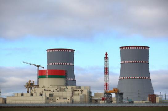 Первый энергоблок Белорусской АЭС начал работу на 100% проектной мощности