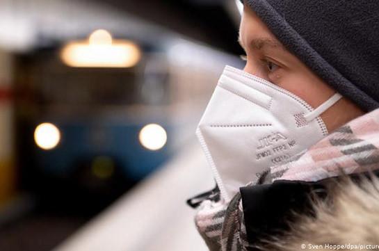 В Германии число заболевших COVID-19 превысило два миллиона