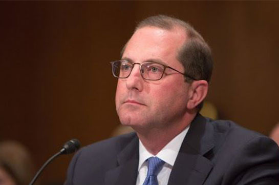 Глава Минздрава США подал в отставку