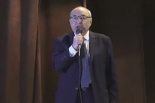 Ապացուցված եմ համարում, որ Շուշին ոչ թե գրավել են ադրբեջանցիները, այլ՝ տվել են մերոնք. Հայաստանը մտավ կործանարար խաղաղության մեջ. Վազգեն Մանուկյան