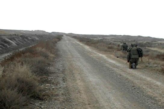 Ռուս խաղաղապահները շարունակում են ականազերծել Լեռնային Ղարաբաղի տարածքը