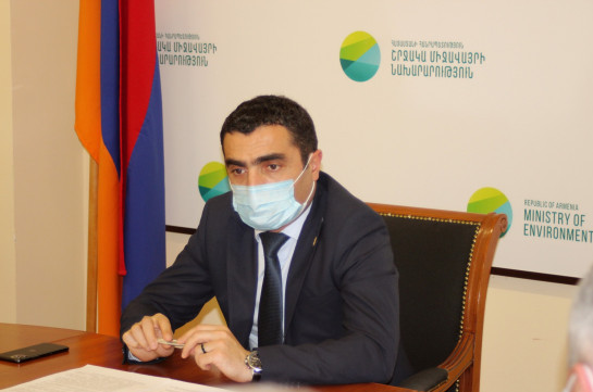 Armenia faces serious environmental dangers after Azerbaijan used internationally prohibited weapons against Armenia and Artsakh - minister