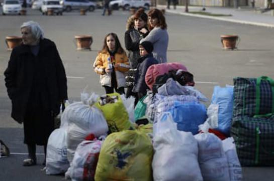 Почти 190 беженцев вернулись в Нагорный Карабах за сутки