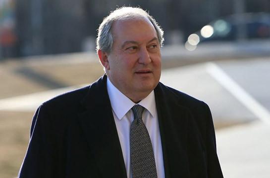 Президент Армении в ближайшие дни будет выписан из больницы в Лондоне