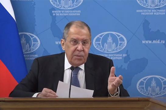 No issue of cutting Nagorno Karabakh from Armenia raised – Lavrov
