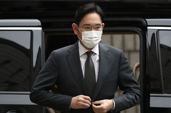 Samsung heir gets prison term for bribery scandal