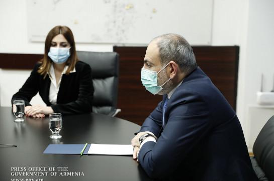 Վարչապետն ԱՆ աշխատակազմին է ներկայացրել Անահիտ Ավանեսյանին և հույս հայտնել, որ առողջապահության ոլորտում բարեփոխումների տեմպն էլ ավելի կմեծանա (Տեսանյութ)