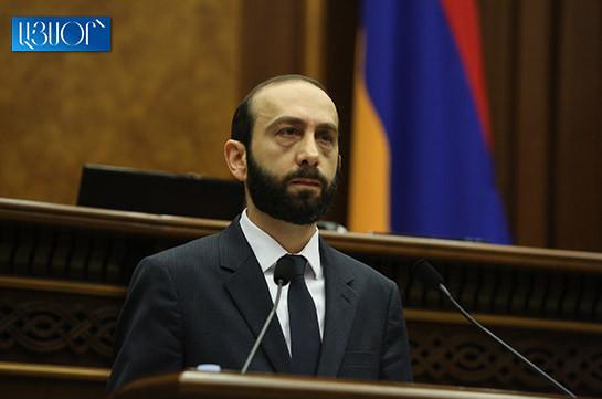 Генпрокуратура направила в СНБ публикации о том, что спикер парламента Армении является агентом спецслужб Турции