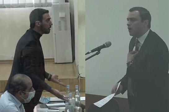 «Ո՞վ ա հանձնող, դուրս արի ասեմ՝ ով ա հանձնող». Քոչարյանի և մյուսների գործով նիստին իրար մեղադրեցին Շուշին հանձնելու համար (Տեսանյութ)