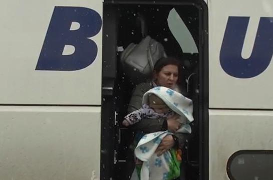 114 беженцев вернулись в Нагорный Карабах за сутки