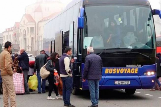 Over 180 refugees return to Stepanakert in one day