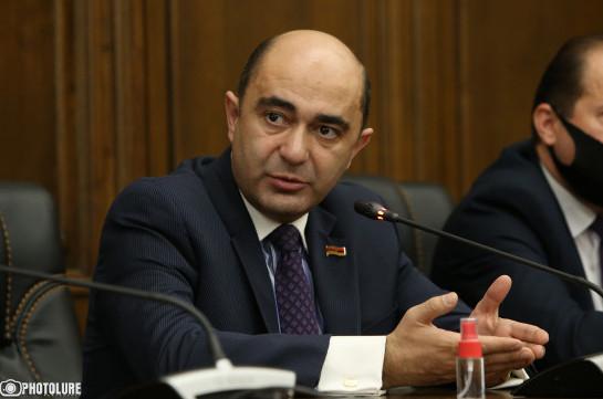 Эдмон Марукян выдвинет свою кандидатуру на пост премьера Армении