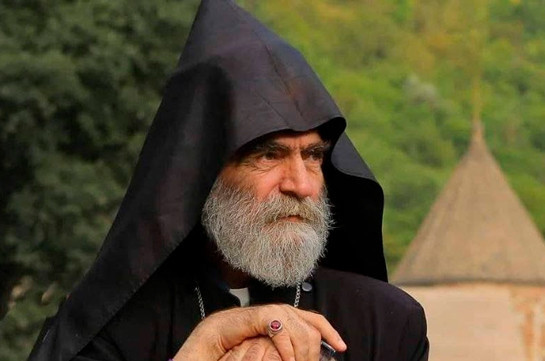 Պարգև արքեպիսկոպոս Մարտիրոսյանն ազատվել է Արցախի թեմի առաջնորդի պաշտոնից