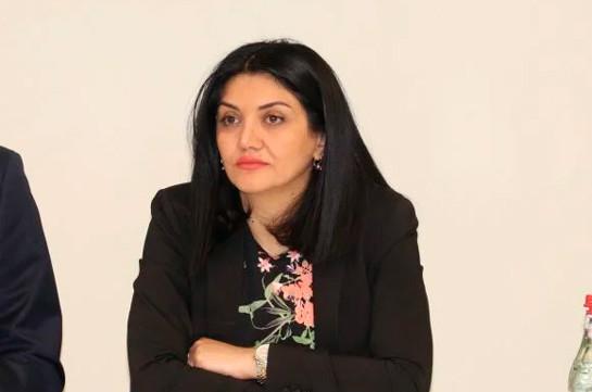 Լենա Նանուշյանը նշանակվել է Հայաստանի առողջապահության նախարարի առաջին տեղակալ