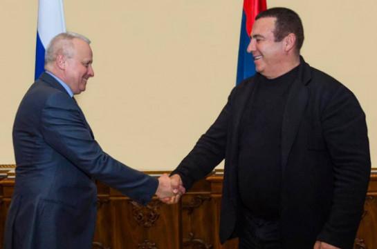Укрепление армяно-российских политических, экономических связей не имеет альтернативы. Царукян встретился с послом России