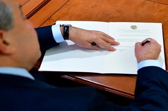 Տիգրան Հարությունյանը նշանակվել է ԱԱԾ տնօրենի տեղակալ