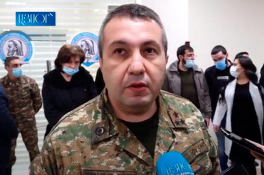 Անհետ կորած 3 ռազմական բժիշկ կա. ԵՊԲՀ ռազմաբժշկական ֆակուլտետի պետ (Տեսանյութ)