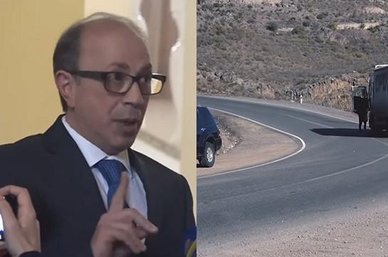 Armenia's FM not aware of Armenia-Azerbaijan arrangement relating to Davit Bek-Goris road sector