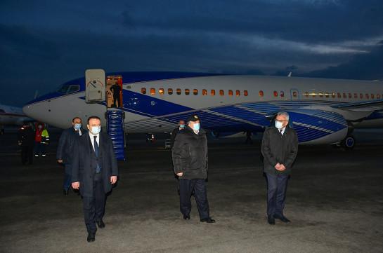 Նախագահ Արմեն Սարգսյանը վերադարձել է Երևան