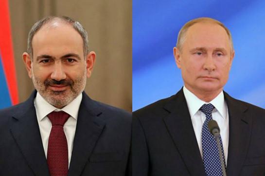 Пашинян заявил Путину о неполноценном выполнении Азербайджаном требования о возвращении пленных