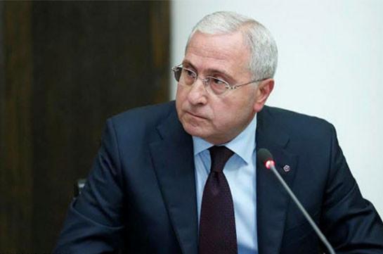 В результате заболевания коронавирусом скончался бывший министр сельского хозяйства Армении