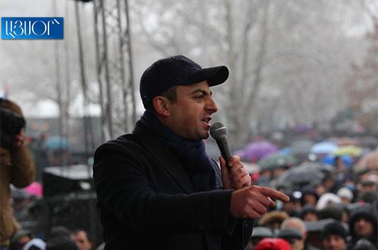 Opposition to convene big pan-Armenian forum – Ishkhan Saghatelyan
