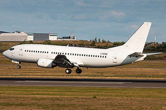 Armenia's Civil Aviation Committee investigates information on hijacking of Boeing 737 with Armenian registration number