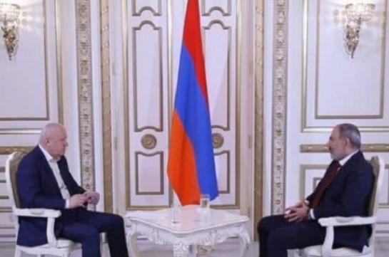 Armenia's PM says no unsolvable issue in Syunik