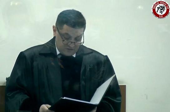Հրապարակվեց «Սասնա ծռերի» գործով դատավճիռը. Սմբատ Բարսեղյանը դատապարտվեց 25 տարի, Պավել Մանուկյանն ու Վարուժան Ավետիսյանը՝ 7 տարի ազատազրկման