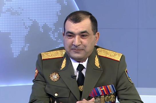 Տիրան Խաչատրյանն ազատվել է ԶՈւ Գլխավոր շտաբի պետի առաջին տեղակալի պաշտոնից վարչապետի առաջարկությամբ