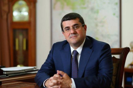 Artsakh president says ready to broker to overcome the political crisis in Armenia