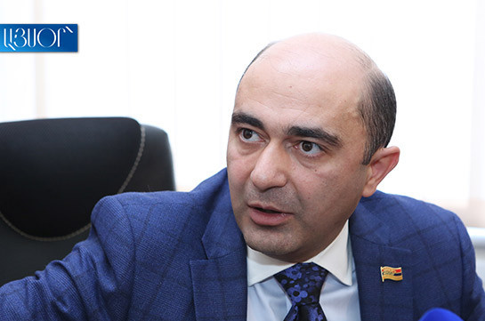 Statement of Armenian Armed Forces not an attempt of military coup – Edmon Marukyan